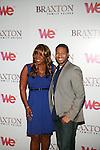 Meli'sa Morgan and Anwar Robinson attend Premiere Screening of BRAXTON FAMILY VALUES Season 2 Held at Tribeca Grand, NY 11/8/11