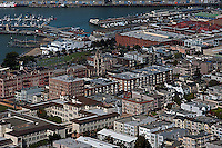 Fisherman's Wharf | San Francisco Aerial Photography