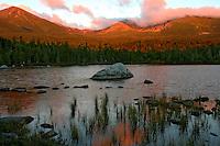 Sandy Stream Pond, Autumn Sunrise  #L30