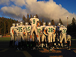 Granite Bay High School Freshmen football team traveled to Nevada Union, Thursday Nov. 1, 2012. The Grizzlies won 40-21