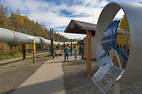 Trans Alaska Oil Pipeline, Fairbanks, Alaska
