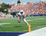 Ole Miss vs. Auburn fullback Jay Prosch (35) at Vaught-Hemingway Stadium in Oxford, Miss. on Saturday, October 13, 2012. (AP Photo/Oxford Eagle, Bruce Newman)..