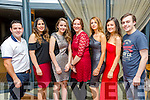 Enjoying the Tralee Musical Society 30th anniversary Gathering at Ballyroe Heights Hotel on Saturday were Alan Teahan, Natalie Murphy, Rebecca Murphy, Danielle Mullery, Rachel Quirke, Chantelle O Sullivan and Gary Murphy