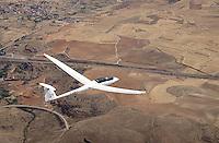 Segelflugzeug vom Typ Arcus: Spanien, 05.08.2014 Segelflugzeug vom Typ Arcus