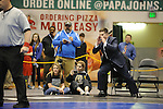 during the state finals wrestling tournament Saturday, Dec. 17, 2016.  Photo for the Star by Michael Dinneen
