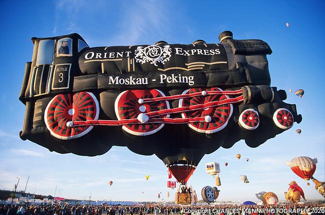 Albuquerque To Santa Fe >> Albuquerque Balloon Fiesta_Orient Express Balloon_MANN_013.tif | Charles Mann Photography
