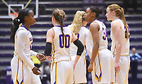 Albany defeats Maine 66-50 for its sixth consecutive title in the championship game of the America East conference tournament on March 10, 2017 at SEFCU Arena in Albany, New York.  (Bob Mayberger/Eclipse Sportswire)