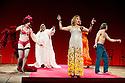 "London, UK. 29/06/2011.  les ballets C de la B Alain Platel and Frank Van Laecke present ""Gardenia"" at Sadler's Wells. Front: Griet Debacker. Photo credit should read Jane Hobson"