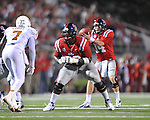 Ole Miss offensive lineman Aaron Morris (72) vs. Texas at Vaught-Hemingway Stadium in Oxford, Miss. on Saturday, September 15, 2012. Texas won 66-21. Ole Miss falls to 2-1.