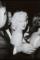 Unseen images of Marilyn Monroe.