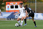 05 November 2008: Boston College's Hannah Cerrone. Boston College defeated Duke University 1-0 at Koka Booth Stadium at WakeMed Soccer Park in Cary, NC in a women's ACC tournament quarterfinal game.