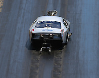 Jun 18, 2016; Bristol, TN, USA; NHRA pro mod driver Steven Whiteley during qualifying for the Thunder Valley Nationals at Bristol Dragway. Mandatory Credit: Mark J. Rebilas-USA TODAY Sports