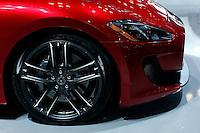 The 2015 Maserati GranTurismo MC is seen during the International Auto Show 2015 in New York. 04.06.2015. Eduardo MunozAlvarez/VIEWpress.