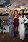 TRUE LOVE  Exhibition and Deysi Calderon Birthday Celebration Held on the Ironman Yacht during Art Basel