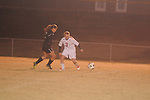 Lafayette High's Ally Houghton (3) vs. Horn Lake in girls high school soccer in Oxford, Miss. on Tuesday, November 27, 2012.