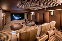 Modern Theater With Acoustic Treatment Quality Finishing
