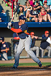 10 March 2014: Houston Astros outfielder George Springer in action during a Spring Training game against the Washington Nationals at Space Coast Stadium in Viera, Florida. The Astros defeated the Nationals 7-4 in Grapefruit League play. Mandatory Credit: Ed Wolfstein Photo *** RAW (NEF) Image File Available ***