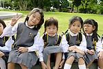 Schoolchildren, Gyeongbok Palace