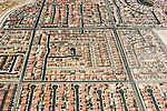 Aerial view of urban growth and sprawl in Las Vegas, Nevada, NV, Las Vegas, city, growth of sprawl of Las Vegas, aerial, Photo nv297-18724. .Copyright Lee Foster, www.fostertravel.com, 510-549-2202,lee@fostertravel.com
