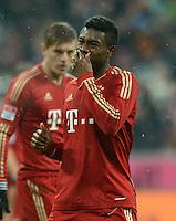 FUSSBALL   1. BUNDESLIGA  SAISON 2012/2013   9. Spieltag FC Bayern Muenchen - Bayer 04 Leverkusen    28.10.2012 David Alaba (FC Bayern Muenchen)