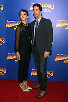 Zoe Buckman and David Schwimmer at the NY premiere of Madagascar 3: Europe's Most Wanted at the Ziegfeld Theatre in New York City. June 7, 2012. © RW/MediaPunch Inc.