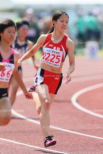 Ryo Koda, JULY 29, 2015 - Athletics : 2015 All-Japan Inter High School Championships, Women's 400m Semi-final at Kimiidera Athletic Stadium, Wakayama, Japan. (Photo by YUTAKA/AFLO SPORT)