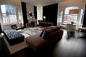"BOSTON, MA.-- February 19, 2010-- Ames Hotel Boston, ""The Apartment"" suite. CREDIT: JODI HILTON FOR THE NEW YORK TIMES"