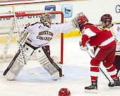 Parker Milner (BC - 35), Yasin Ciss&eacute; (BU - 12), [bc5 - The Boston College Eagles defeated the visiting Boston University Terriers 5-2 on Saturday, December 1, 2012, at Kelley Rink in Conte Forum in Chestnut Hill, Massachusetts.