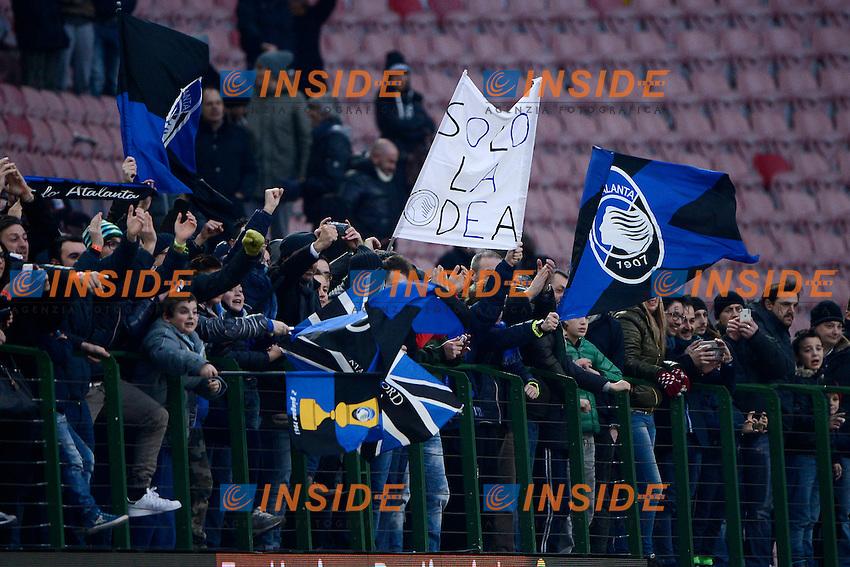 Tifosi Atalanta<br /> Milano 18-01-2015 Stadio Giuseppe Meazza - Football Calcio Serie A Milan - Atalanta. Foto Giuseppe Celeste / Insidefoto