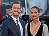 Alicia Vikander & Michael Fassbender - Venice Film Fest2016