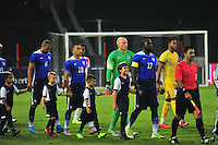 Team USA walks to the field prior to start of match against PeruUSA during a Friendly Match at the RFK Stadium in Washington, D.C. on Friday, September 4, 2015.  Alan P. Santos/DC Sports Box