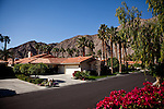 Just a few miles from the Rancho Garcia trailer park luxury homes abound in La Quinta, Calif., March 9, 2012.