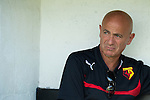 St Albans 0 Watford 5, 26/07/2014. Clarence Park, Pre Season Friendly. Pre Season friendly between St Albans City and Watford from Clarence Park Stadium. Giuseppe Sannino (Watford manager) Watford won the game 5-0. Photo by Simon Gill.