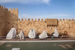 Sharm el Sheikh, Sinai, January 2015. Scenery of a sound and light show.