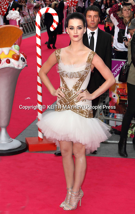 London - UK premiere of 'Katy Perry: Part of Me' 3D at the Empire, Leicester Square, London - July 3rd 2012..Photo by Keith Mayhew