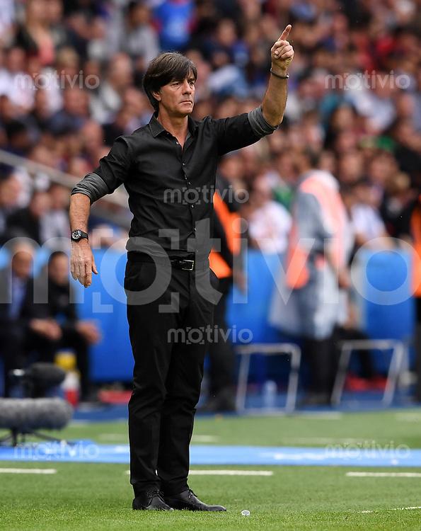 FUSSBALL EURO 2016 GRUPPE C IN PARIS Nordirland - Deutschland     21.06.2016 Trainer Joachim Loew (Deutschland)