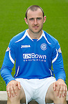 St Johnstone FC...Season 2011-12.Dave Mackay.Picture by Graeme Hart..Copyright Perthshire Picture Agency.Tel: 01738 623350  Mobile: 07990 594431