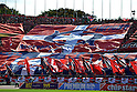 Kashima Antlers fans, .NOVEMBER 3, 2012 - Football / Soccer : 2012 J.League Yamazaki Nabisco Cup final match between Shimizu S-Plus 1-2 Kashima Antlers at National Stadium in Tokyo, Japan. (Photo by Jun Tsukida/AFLO SPORT) [0003]..