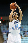 05 December 2012: North Carolina's Krista Gross. The University of North Carolina Tar Heels played the Radford University Highlanders at Carmichael Arena in Chapel Hill, North Carolina in an NCAA Division I Women's Basketball game. UNC won the game 64-44.
