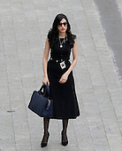 Hillary Clinton aide Huma Abedin arrives near the east front steps of the Capitol Building before President-elect Donald Trump is sworn in at the 58th Presidential Inauguration on Capitol Hill in Washington, D.C. on January 20, 2017.   <br /> Credit: John Angelillo / Pool via CNP