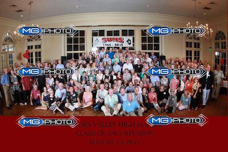 Shades Valley 1965 Class Reunion  8-15-2015