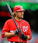 1 May 2011: Washington Nationals outfielder Jayson Werth stands at bat during a game against the San Francisco Giants at Nationals Park in Washington, District of Columbia. The Nationals defeated the Giants 5-2. Mandatory Credit: Ed Wolfstein Photo