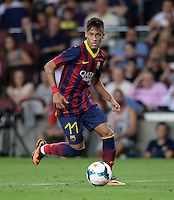 Fussball international Gamper Cup 2013: FC Barcelona - FC Santos