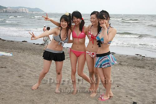 Aug 21, 2009; Kamakura, Kanagawa Pref., JPN - Beach in Kamakura...Photo credit: Darrell MIho.