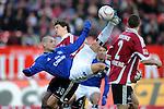 Fussball Bundesliga 2010/11, 20. Spieltag: 1. FC Nuernberg - Hamburger SV