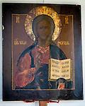 Icon of Jesus Christ, Pantocrator,  St. Silhouan Monastery, Columbia, California.