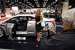 Cadillac dreaming, Seattle Auto Show