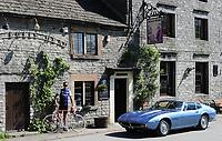 Picture by Simon Wilkinson/SWpix.com - 10/05/2017 - Cycling - Maserati Eroica Britannia Ride with David Millar.
