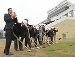 End Zone Facility Groundbreaking
