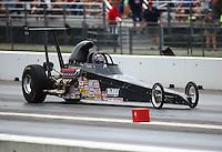 Jun 4, 2016; Epping , NH, USA; NHRA comp eliminator driver Doug Doll Jr during qualifying for the New England Nationals at New England Dragway. Mandatory Credit: Mark J. Rebilas-USA TODAY Sports
